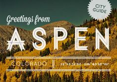 Aspen, CO City Guide {UPDATE}