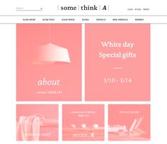 somethink.A white day promotion