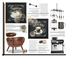"""But first coffee!!"" by krischigo ❤ liked on Polyvore featuring interior, interiors, interior design, home, home decor, interior decorating, CO, Sage, Dot & Bo and Zuo"