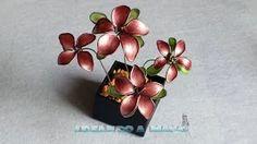 nail polish flowers - YouTube
