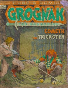 Grognak February Issue Book - Fallout 4 by PlanK-69 on DeviantArt
