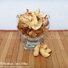 Chips de Maçã na AirFryer | Fritadeira sem Óleo - AirFryer