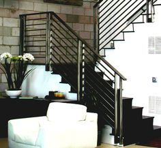 Iron Stair Railing Paint Second