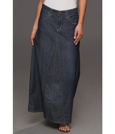 Roper Blue Belle A Line Maxi Skirt Blue - Zappos.com Free Shipping BOTH Ways