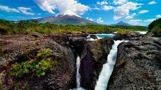 Petrohué Falls, Chile