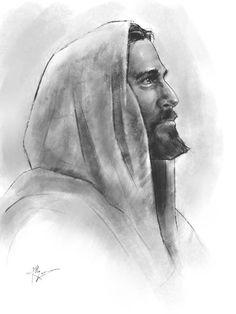 Redeemer - Pictures of Jesus Christ - Redeemer – - Jesus Christ Drawing, Jesus Drawings, Jesus Art, Pencil Art Drawings, Drawing Sketches, Paintings Of Christ, Jesus Painting, Jesus Sketch, Christian Artwork