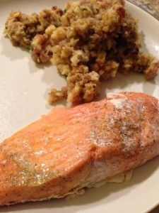 Salmon in a Bag | The Cookin Chicks