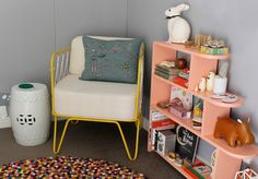 sunday collector....add yellow to Arden's room