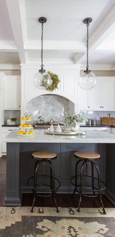 Stephanie Kraus Designs Llc White Cabinets Gray