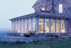 Hilltop Conservatory - Custom Conservatory Design by Tanglewood Conservatories Glass Conservatory, Conservatory Design, Gazebo, Rustic Patio, Pool Houses, Glass Houses, Concrete Houses, Stone Houses, My Dream Home