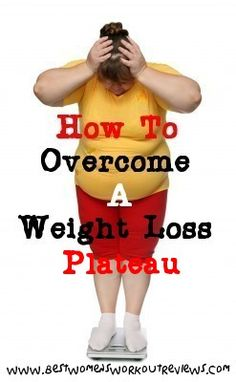 If you're on a diet and you've stopped losing weight, click the link to the right to find out #HowToOvercomeAWeightLossPlateau: http://www.bestwomensworkoutreviews.com/how-to-overcome-a-weight-loss-plateau