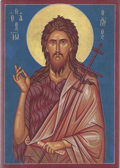 John The Baptist, Orthodox Icons, Ikon, Saints, Angels, Movies, Movie Posters, Art, Films