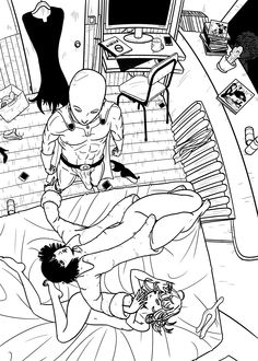 Two Girls, One Punch Man