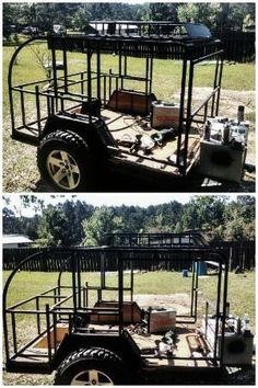 Steal framed off road teardrop camper build by bonita