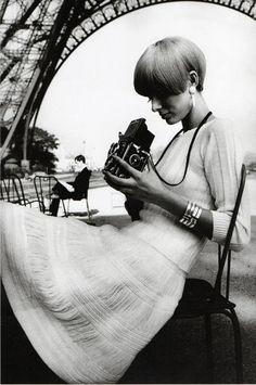 Paris Vogue France, 1965 Photo by JeanLoup Sieff