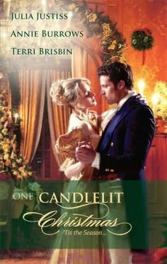 Julia Justiss, Annie Burrows, Terri Brisbin - One Candlelit Christmas / #awordfromJoJo #HistoricalRomance