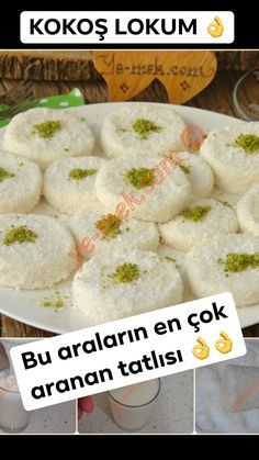 one of the most wanted dessert . practical Making this call, presentation . great service done in the refrigerator, remove, such as ice . Lokum Recipe, Tandoori Masala, Candy S, Snack Recipes, Snacks, Food Words, Iftar, Homemade Beauty Products, Puddings