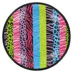 Bag-of-Chips Small Neon Animal Print Plates | Shop Hobby Lobby