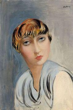 Moise Kisling, Suzy Solidor on ArtStack Art Français, 2d Art, L'art Du Portrait, Female Portrait, Art Eras, Moise, Georges Braque, Modigliani, French Artists