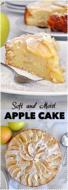 Apple Dessert Recipes, Easy Cake Recipes, Apple Recipes, Just Desserts, Baking Recipes, Delicious Desserts, Yummy Food, Cookie Recipes, Bread Recipes