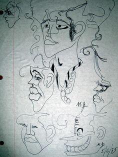 Personal artwork by Michael Jackson