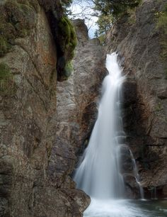 The Ultimate New Hampshire Waterfall Road Trip  #6. Glen Ellis Falls, Jackson