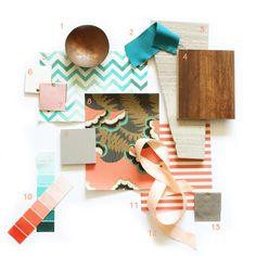 Emily Henderson: Materials board