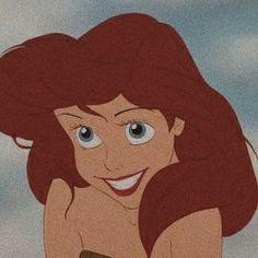 Princess Aesthetic, Disney Aesthetic, Disney Princesses, Disney Characters, Fictional Characters, Cartoon Profile Pictures, 90s Cartoons, Ariel The Little Mermaid, Ol Days