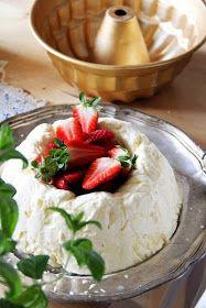 Semifreddo a´la Karin och lathetsursäkter. Kraken, Feta, Camembert Cheese, Mousse, Pudding, Custard Pudding, Puddings, Avocado Pudding