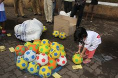 the street photographer marziya shakir loves football