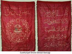 tantalos: OSMANLI SANCAKLARI Ottoman Flag, Ottoman Empire, Visit Turkey, The Turk, Religious Art, Islamic Art, Religion, Textiles, History
