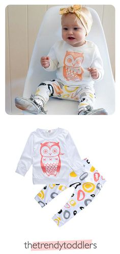 Free Worldwide Shipping! SHOP Our Unisex Owl Baby Suit