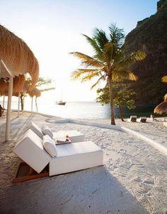 Sugar Beach , St Lucia .