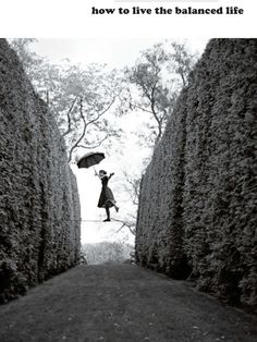 Life is a balancing act...