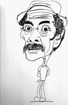 CARICATURAS DELBOY: DON RAMON