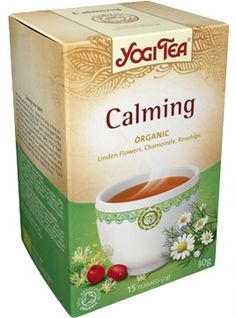 Calming tea will help you stay calm throughout the day and is also great for children. Calming tea is a time-tested Ayurvedic formula traditionally used to ease stress and tension, while preserving the vitality needed to succeed in today's high-pressure world. Known for its mild, apple-like flavour, chamomile has been used as a calming agent for centuries and is widely regarded for the way in which it helps compose the mind and cool the body.