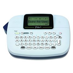 Brother P-touch, Handy Label Maker, 9 Type Styles, 8 Deco Mode Patterns, White: Office Products Best Sellers Best Label Maker, Label Makers, Dymo Label, Create Labels, Office Items, Buy Office, Tool Organization, Organizing, Printing Labels