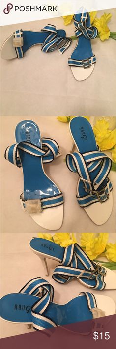 Rouge Helium high heel sandals size 10 New shoes size 10 strap around the ankle. High heels. All offer are welcome rouge helium  Shoes Heels