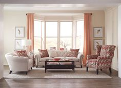 Give traditional furniture a little bit of edge by mixing and matching different shapes.