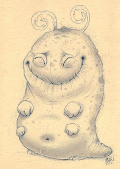 Sooo Happy... (This morning's scribble by Chris Ryniak)