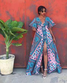 African Fashion Ankara, Latest African Fashion Dresses, African Dresses For Women, African Print Fashion, Africa Fashion, African Attire, Ankara Maxi Dress, Africa Dress, Elegant Outfit