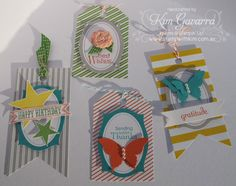 Tag A Bag Tags - Stampin' Up! - http://www.stampwithkim.com.au/blog/?p=2080