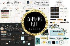 Bundle Blog Kit by Webvilla on Creative Market