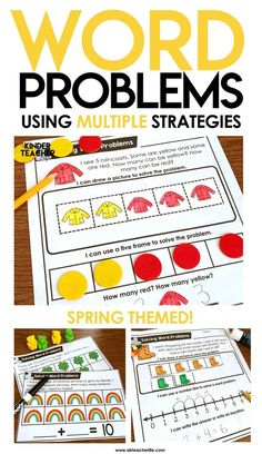 Spring-themed math w