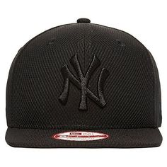 38f1609cb7b New Era 9FIFTY Diamond New York Yankees Snapback Cap ( 40) ❤ liked on  Polyvore featuring men s fashion