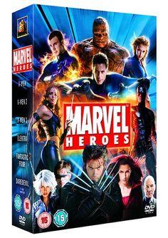 Marvel Heroes : X-Men / X-Men 2 / X-Men 3 The Last Stand / Elektra / Daredevil / Fantastic Four (6 D @ niftywarehouse.com