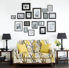 fotografia nas paredes