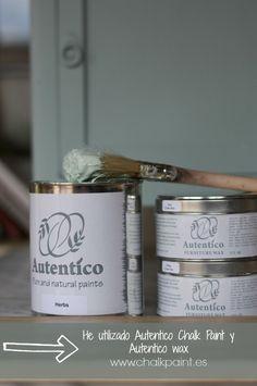 Crea Decora Recicla by All washi tape | Autentico Chalk Paint: Tutorial Autentico Chalk Paint