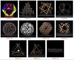 Stanford University Archives of Buckys Original Geometrical Models in Geometry Shape, Sacred Geometry, Melissa Anderson, Math Meeting, Concept Models Architecture, Math Crafts, Buckminster Fuller, Brown Horse, Shape And Form