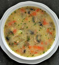 Zupa Pieczarkowa Przepis | Kuchnia Doroty